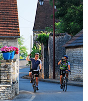 Dordogne biking photo